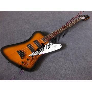 Custom Shop Thunderbird Sunsetburst Burst Electric Bass