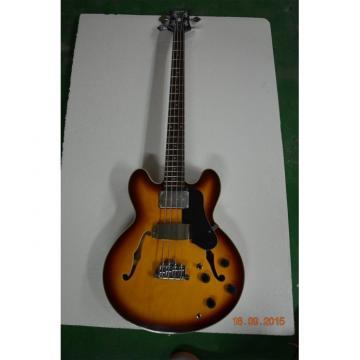 Custom Shop Vintage Midtown Standard 4 String Fhole Semi Hollow Bass