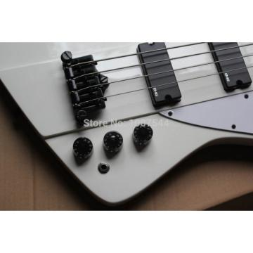Custom Shop Thunderbird White Electric Bass