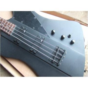 Custom Shop Thunderbird Black 1958 Explorer Matte Electric Bass