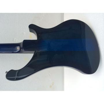 Custom Shop Rickenbacker Left Hand Blue 4003 Bass Fretless