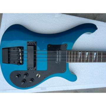 Custom Shop Royal Blue Rickenbacker 4003 Electric Bass