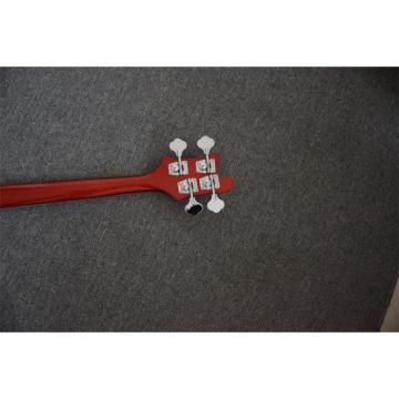 Custom Shop Red Finish Rickenbacker 4001 Bass