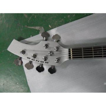 Custom Shop Passive Pickups Bongo MusicMan White 6 Strings Bass