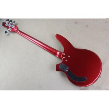 Custom Shop Passive Pickups Bongo Music Man Red 4 Strings Bass