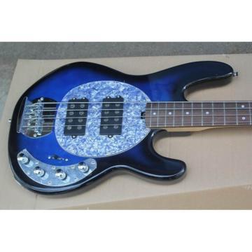 Custom Shop Music Man Blue Electric Bass 4 String