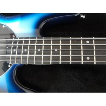 Custom Shop Blue Burst 5 String Bass Musicman StingRay