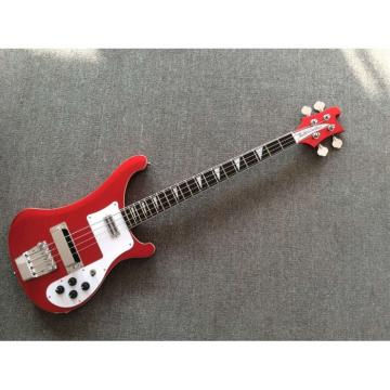 Custom Shop 4003 Rickenbacker Metallic Red 4 String Electric Bass