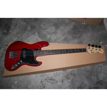 Custom Fender Brick Red Presicion Bass