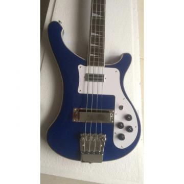 Custom 4003 Blue Checkerboard Bindings Neck Thru Body Rickenbacker Bass