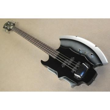 Custom Cort Axe Black Gene Simmons 4 String Bass