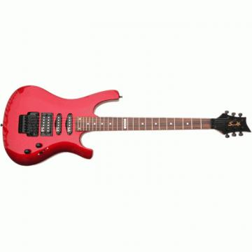The Top Guitars Brand SRM 420 Metallic Red Electric Guitar