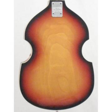 Vintage Silvertone Brand Violin Style 4 String Electric Bass Guitar