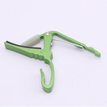 Quick Change Guitar Capo for Electric Acoustic Guitar Green