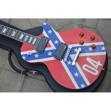 LP Flag Rebel Confederate Electric Guitar