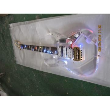 Ibanez Acrylic Plexiglass With Colored Lights Electric Guitar