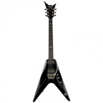 DBZ Cavallo ST-FR-BK Black Electric Guitar W/Licensed Floyd Rose Trem