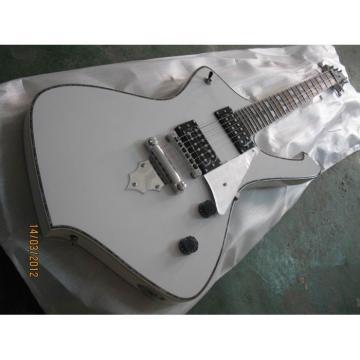 Custom White Iceman Ibanez Electric Guitar