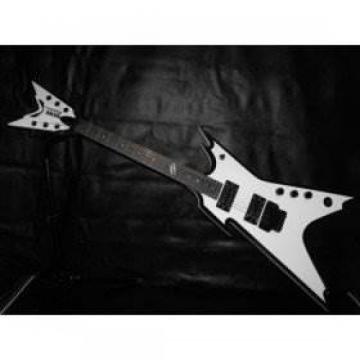 Custom Shop White Strange Dean Electric Guitar