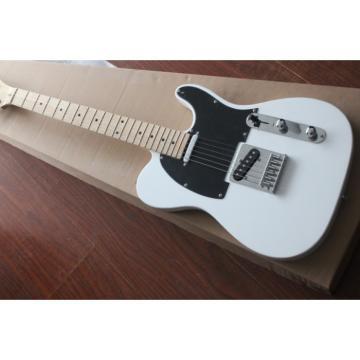 Custom Shop White Fender Telecaster Electric Guitar