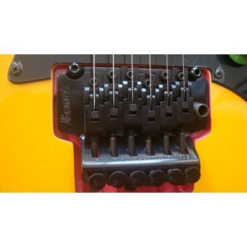 Custom Shop Yellow Ibanez Electric Guitar