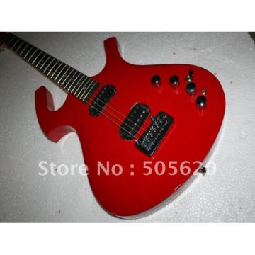 Custom Shop Unique Red Fly Mojo Electric Guitar
