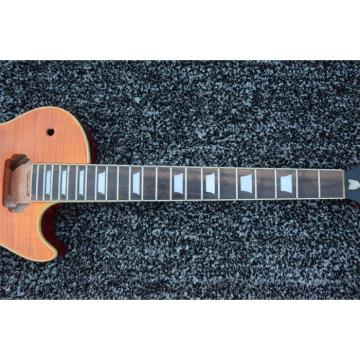 Custom Shop Unfinished Tiger Maple Top Electric Guitar