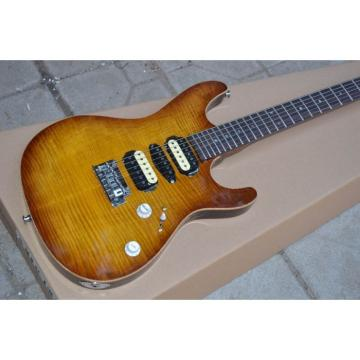 Custom Shop Suhr Root Beer Stain Maple Top Electric Guitar