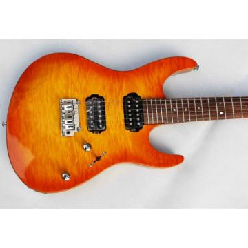 Custom Shop Suhr Flame Maple Top Sunburst Electric Guitar