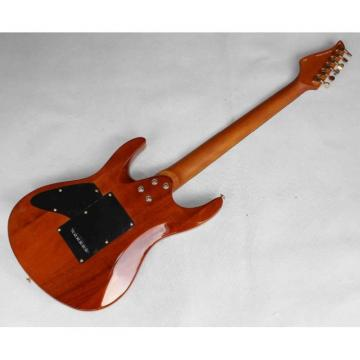 Custom Shop Suhr Flame Maple Top Brown Electric Guitar
