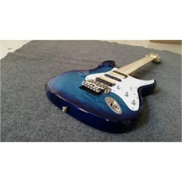 Custom Shop Stratocaster Electric Guitar Transparent Blue