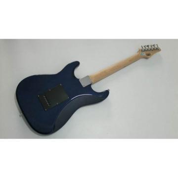 Custom Shop Suhr Fantasy Blue Flowers Electric Guitar