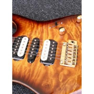 Custom Shop Suhr Brown Maple Top 24 Frets Electric Guitar