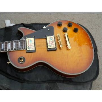Custom Shop Standard Light Yellow Brown Electric Guitar