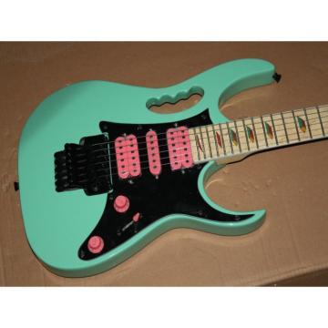 Custom Shop Sea Foam Green Ibanez Electric Guitar