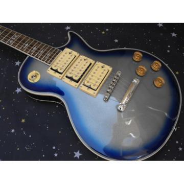 Custom Shop Robot Blue Ace Frehley Robot Electric Guitar