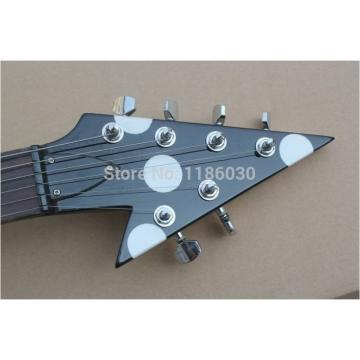 Custom Shop RR Polka Dots Flying V Electric Guitar