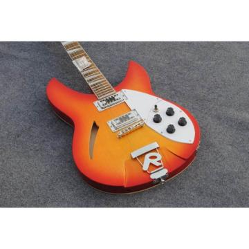 Custom Shop Rickenbacker Sunburst Cherry 380 Electric Guitar