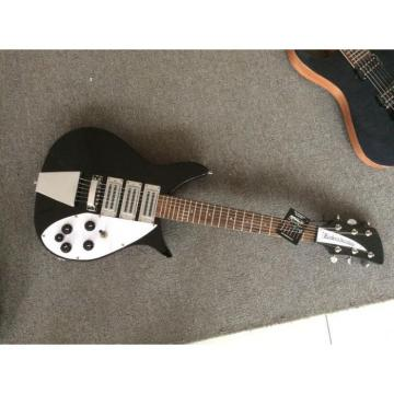Custom Shop Rickenbacker 325C64 Jetglo Electric Guitar D'Addario Strings