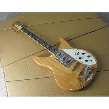 Custom Shop Rickenbacker 325 Natural Glow Electric Guitar