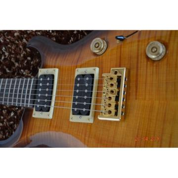 Custom Shop PRS Tobacco Tiger Maple Top 6 String Electric Guitar