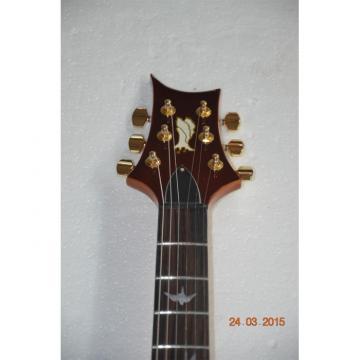 Custom Shop PRS Quilted Maple Top Sunburst Electric Guitar 22 Frets