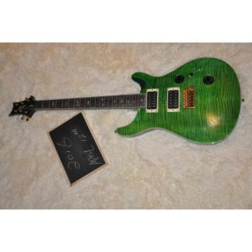 Custom Shop PRS Green Flame Maple Top 30th Electric Guitar