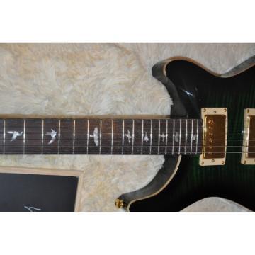Custom PRS Gray Burst Flame Maple Top Electric Guitar