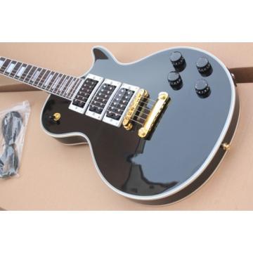 Custom Shop Peter Black Beauty LP Electric Guitar