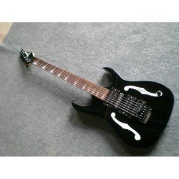 Custom Shop Paul Gilbert Ibanez Black Electric Guitar