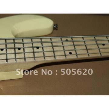 Custom Shop MusicMan Cream StingRay 5 Electric Guitar