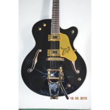 Custom Shop Nashville Falcon Black Electric Jazz Guitar