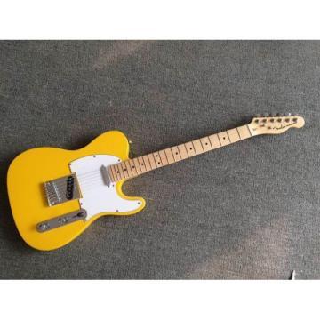 Custom Shop Monaco Yellow Telecaster Danny Gatton Electric Guitar