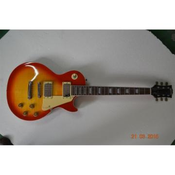 Custom Shop LP Sunburst Model Standard Electric Guitar